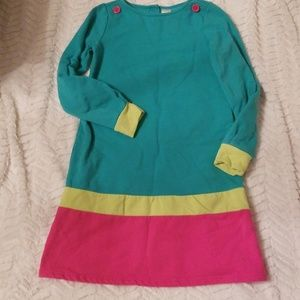 Girls 12 gymboree knit fall dress